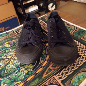 Converse Chuck Taylor All Star Lo Mono Sneaker-Black for Sale in Phoenix, AZ
