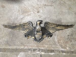 Vintage cast metal eagle for Sale in Encinitas, CA