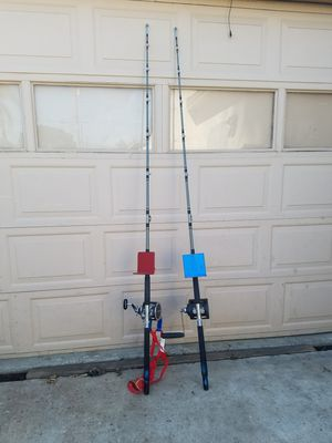 Big game fishing poles for Sale in Colton, CA
