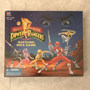 Power ranger board game like new for Sale in Silver Spring, MD