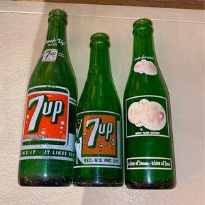Vintage 7-Up bottles for Sale in Boring, OR