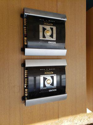 2 Sound Storm F200.4 Car Amplifiers for Sale in Las Vegas, NV