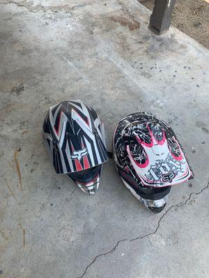 Fox Motorcycle helmets for Sale in Riverside, CA