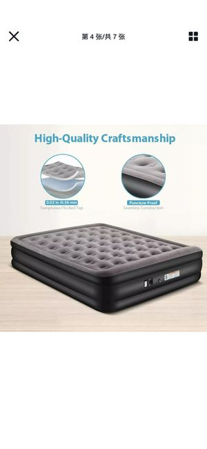 Queen Size Air Mattress Inflatable Bed Air bed for Sale in Montclair, CA