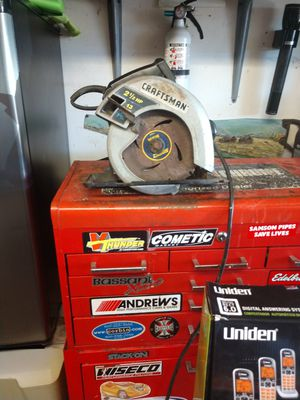 Craftsman circular saw for Sale in Grover Beach, CA