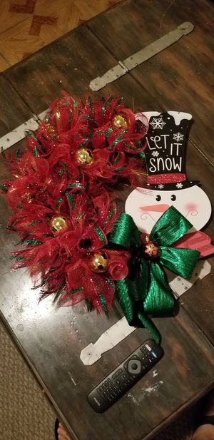 Christmas wreath for Sale in Haines City, FL