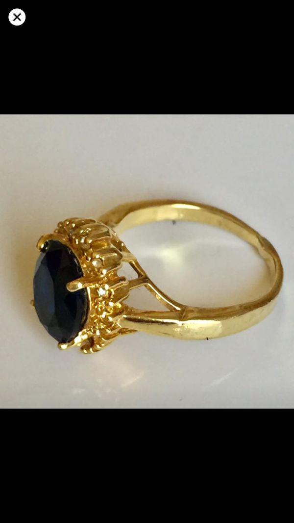 Gold filled ring women's jewelry accessory