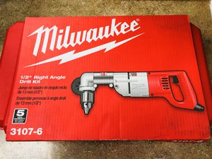 """Milwaukee Right Angle Drill Kit 1/2"""" for Sale in Anaheim, CA"""