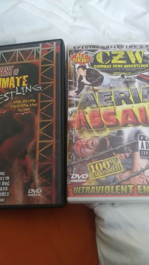 Wrestling DVDs for Sale in Tampa, FL