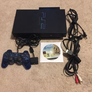PlayStation 2 PS2 With Final Fantasy XII for Sale in Austin, TX