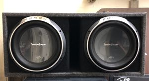 """12"""" Subwoofers- Rockford Fosgate Punch P3 Series for Sale in Long Beach, CA"""
