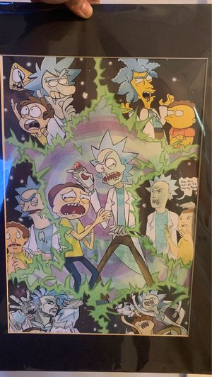 Rick and Morty painting for Sale in Pompano Beach, FL