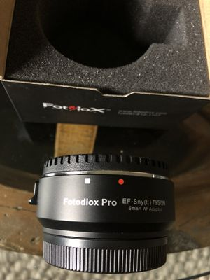 Fotodiox PRO Lens Mount Adapter Canon EOS to NEX Auto for Sale in Portland, OR