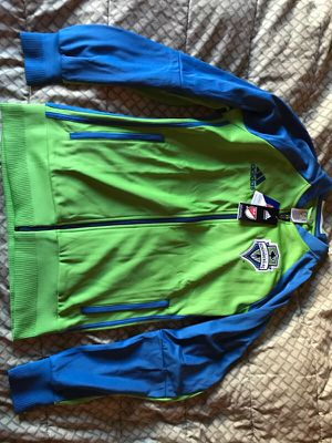 Seattle Sounders MLS adidas Anthem jacket for Sale in Fairfax, VA