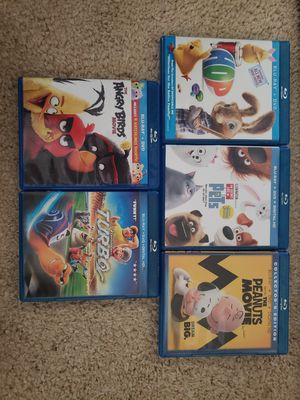 Blue Ray Kids movies for Sale in Palmdale, CA