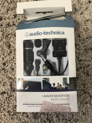 Audio-Technica ATR3350xiS Omni Condenser Microphone for Sale in Dallas, TX