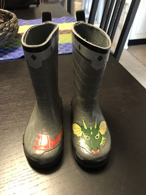 Kids rain boots. Size 8US 24EUR for Sale in Bethesda, MD