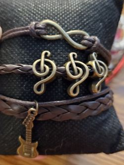 Brown Music Bracelet for Sale in Wenatchee,  WA
