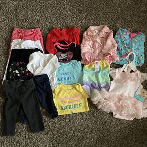 Baby Girl Clothes Lot Size 3 Month - 2T for Sale in Sterling Heights, MI