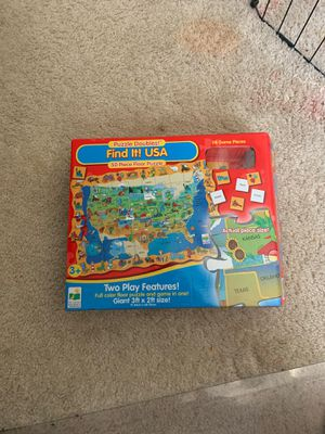 Kids puzzle game for Sale in Gilbert, AZ