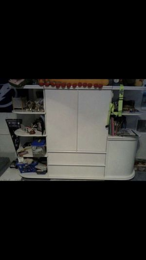 Bellini book shelves/credenzas & armoire *REDUCED PRICE* for Sale in Lutz, FL