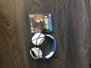 NBA 2k 19 and Turtle Beach Headset Ps4 for Sale in Raleigh, NC