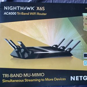 Nighthawk X6S AC4000 Tri Band Wifi Router for Sale in Phoenix, AZ