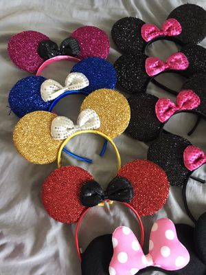 Minnie ears need $2 each Halloween for Sale in Lakewood, CA