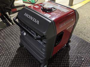 NEW Honda eu3000is inverter generator super quiet price is firm for Sale in Fontana, CA