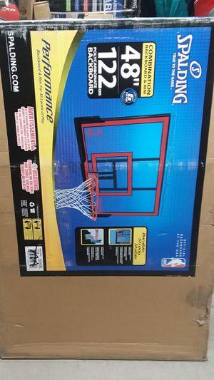 "Spalding Basketball Combination Backboard & Rim 48"" ( Brand NEW in the BOX) Retail $129.99 for Sale in Sun City, AZ"