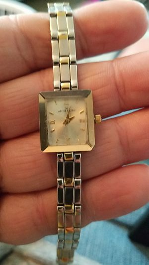 Anne Klein two tone ladies watch replaced battery for Sale in Puyallup, WA