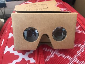 Google Expeditions Virtual Reality Cardboard Goggles for Sale in Fellsmere, FL