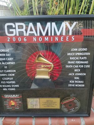 Collecters Item 2006 Grammy Awards Nominees Showcase for Sale in Santa Fe Springs, CA