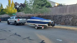 2007 Maxum 1800 MX boat with Trailer + Upgrades WILL TRADE for Sale in Maple Valley, WA