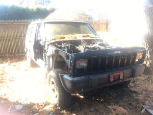 Jeep Cherokee xj 4x4 part out or sell as is for Sale in Westfield, MA