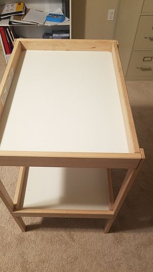 Ikea baby changing table for Sale in Snohomish, WA