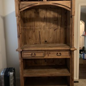 FREE Wooden Rustic Armoire for Sale in Fort Worth, TX