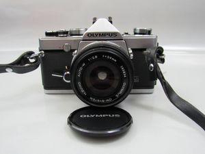 Olympus OM-1 35mm SLR Film Camera w/ Case, Lens and Manual for Sale in Sarasota, FL