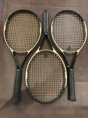 Racket Racquet Tennis Wilson Hammer 4.0 $80 each for Sale in Rancho Cucamonga, CA