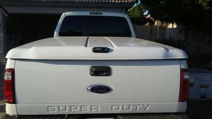 2011 F350 Trade Tonneau Cover and Tailgate for Camper Shell for Sale in Gilbert, AZ