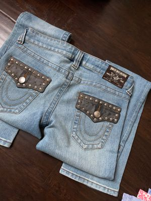 True religion and guess jeans size 28 for Sale in Downey, CA