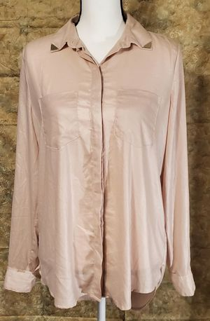 Rock & Republic Blush Button Down Long Sleeve Blouse for Sale in Ripley, WV