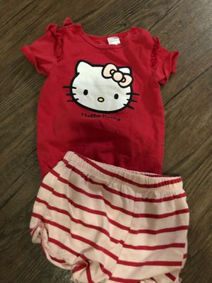 4-6 month infant hello kitty set for Sale in Scottsdale, AZ