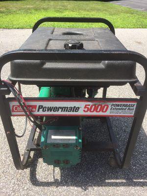 Coleman Powermate 5000 watt Generator for Sale in Maynard, MA
