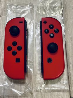 Nintendo Switch Mario Odyssey Red Joycons Authentic for Sale in Ashburn,  VA