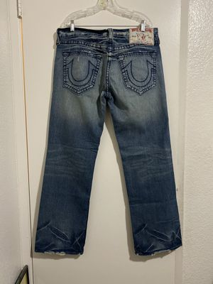 Men's True Religion Boot Jeans (36x33) for Sale in Fresno, CA