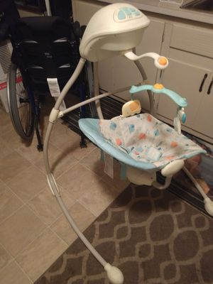 Bright starts baby swing for Sale in East Wenatchee, WA