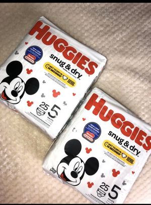 Huggies diapers size 5 for Sale in Fort Worth, TX