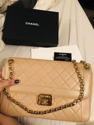 Authentic Chanel Large Flap handbag for Sale in Portland, OR