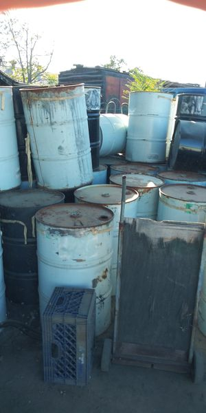 55 gallon steel drums for Sale in Bakersfield, CA